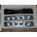 DRL 5 LED 5W dienos žibintai