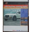 DRL 8 LED 1W dienos žibintai