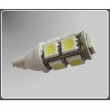 Lemputė LED T10-W-9-5050