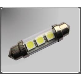 Lemputė SV8.5-3 LED SMD 10x41 mm