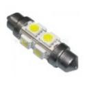 Lemputė SV8.5 LED 8 SMD 10x36 mm