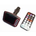 FM Car Moduliatorius MP3